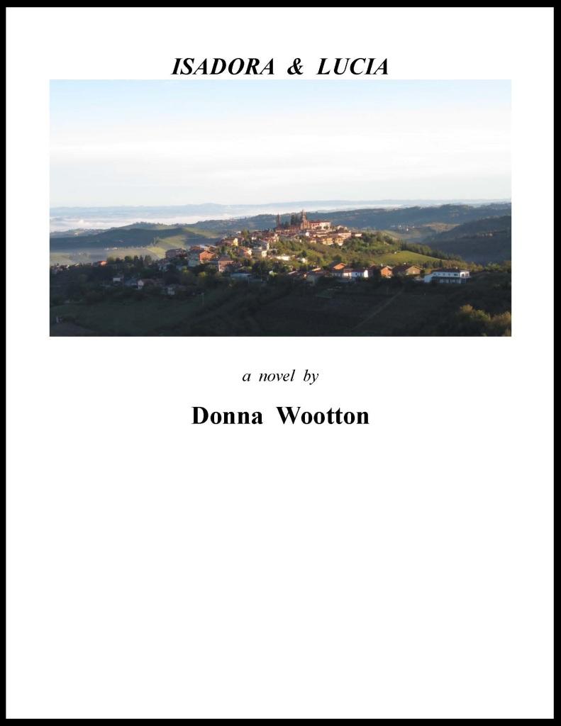 novel cover, Isadora & Lucia